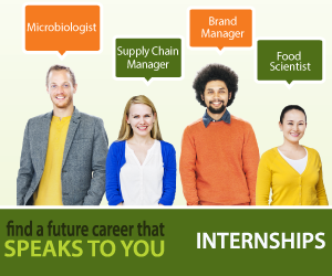 Browse Internships on CareersInFood.com.