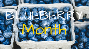 National Blueberry Month is in Full Force