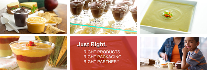Just Right.  Right products. Right Packaging. Right Partner.