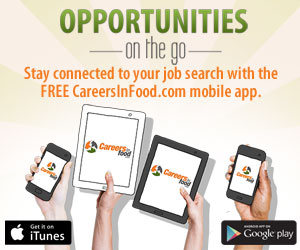 Download the new CareersInFood.com Job Search App
